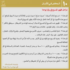 عکس نوشته منجی در ادیان 10 - عربی