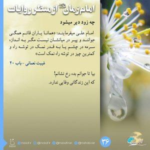 امام زمان از منظر روایات 36